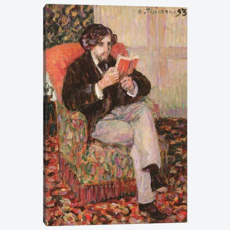 Portrait Of Felix, 1893 Canvas Print #BMN6670} by Camille Pissarro Canvas Artwork