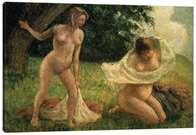 The Bathers Canvas Print #BMN6680