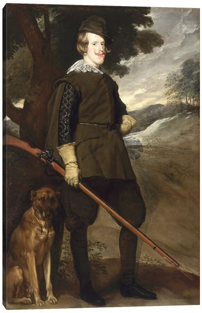 Philip IV  Canvas Art Print