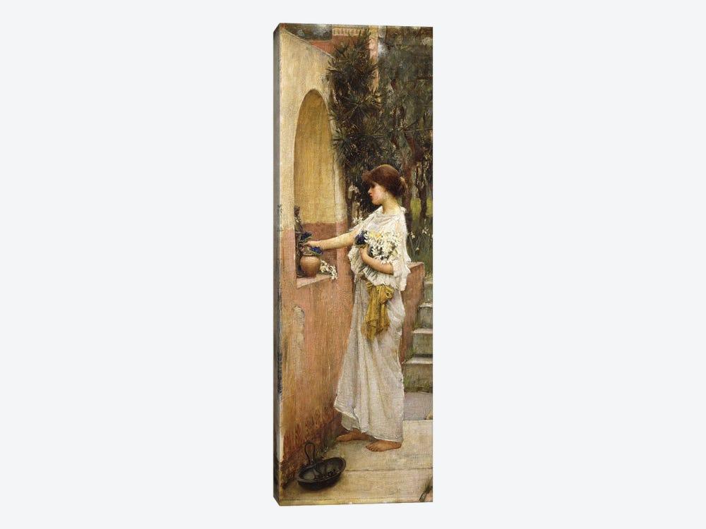 A Roman Offering by John William Waterhouse 1-piece Canvas Art
