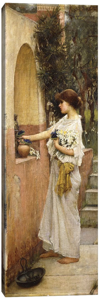 A Roman Offering Canvas Art Print