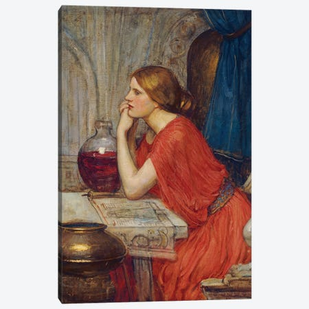 Circe, c.1911-14 Canvas Print #BMN6758} by John William Waterhouse Canvas Art Print