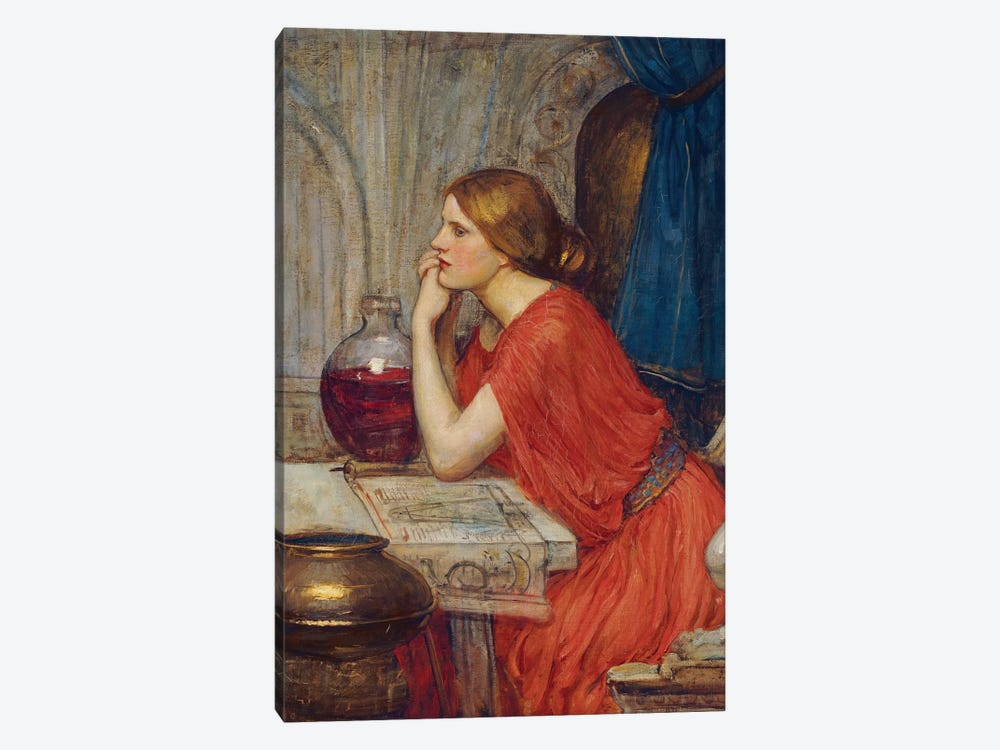 Circe, c.1911-14 by John William Waterhouse 1-piece Canvas Print