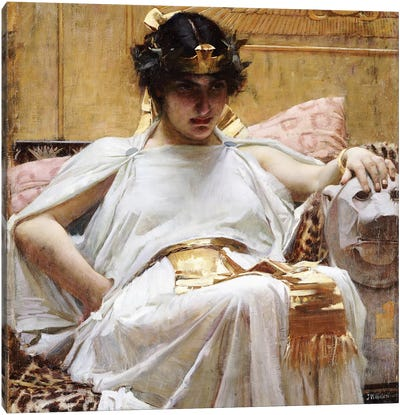Cleopatra, c.1887 Canvas Art Print