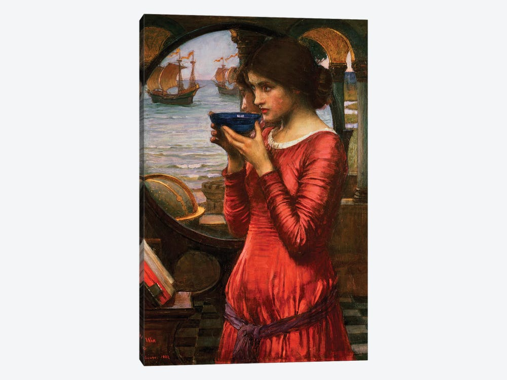 Destiny, 1900 by John William Waterhouse 1-piece Canvas Art Print