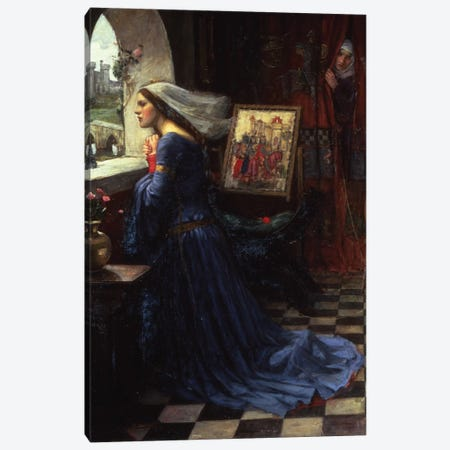 Fair Rosamund, 1916 Canvas Print #BMN6763} by John William Waterhouse Canvas Art
