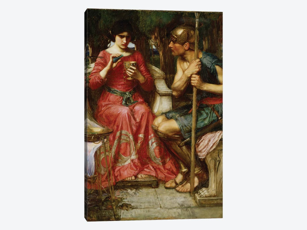 Jason And Medea, 1907 by John William Waterhouse 1-piece Canvas Artwork