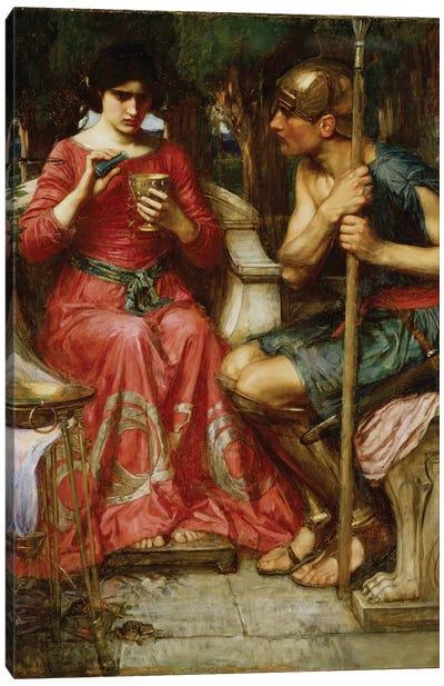 Jason And Medea, 1907 Canvas Art Print