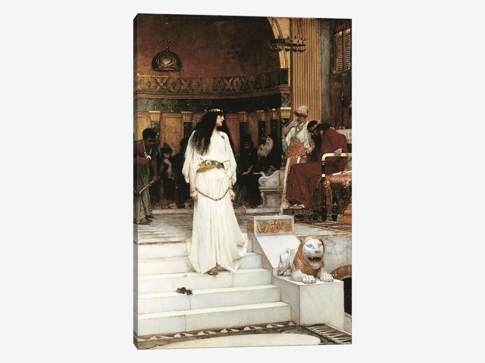 Mariamne, 1887 1-piece Canvas Art Print