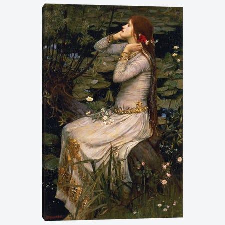 Ophelia, 1894 Canvas Print #BMN6773} by John William Waterhouse Canvas Art Print
