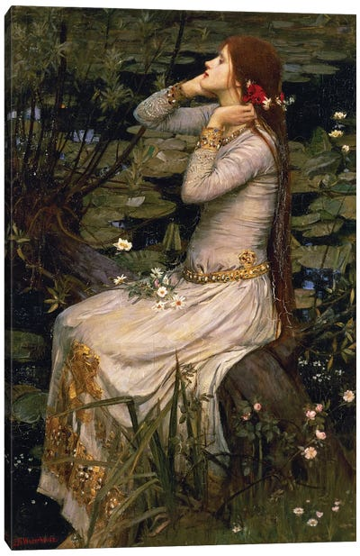 Ophelia, 1894 Canvas Art Print