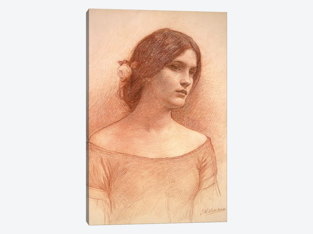 Study For The Lady Clare, c.1900 by John William Waterhouse 1-piece Art Print
