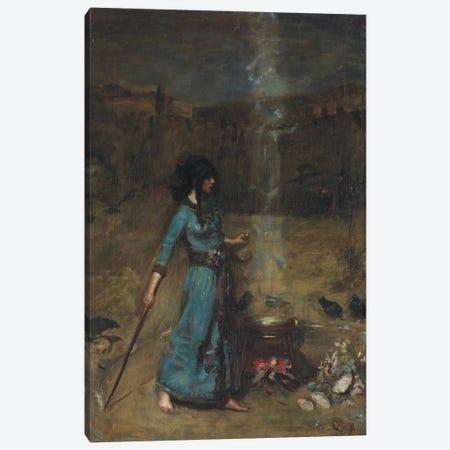 Study For The Magic Circle, 1886 Canvas Print #BMN6777} by John William Waterhouse Canvas Art