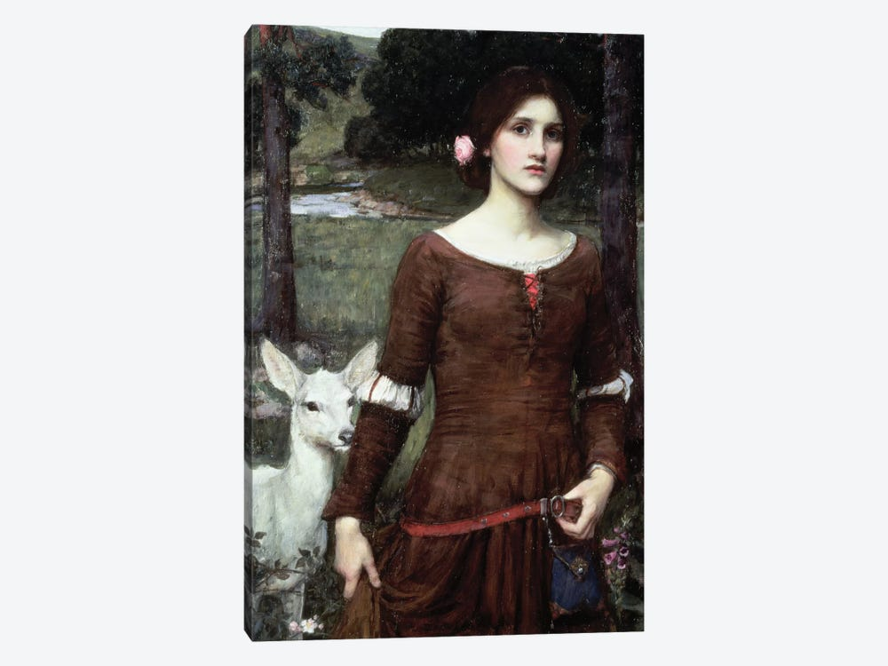 The Lady Clare, 1900 by John William Waterhouse 1-piece Canvas Print