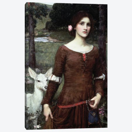 The Lady Clare, 1900 Canvas Print #BMN6783} by John William Waterhouse Canvas Artwork