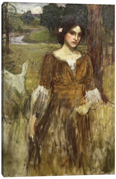 The Lady Clare, c.1900 Canvas Art Print