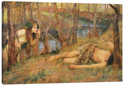The Naiad, 1893 Canvas Art Print