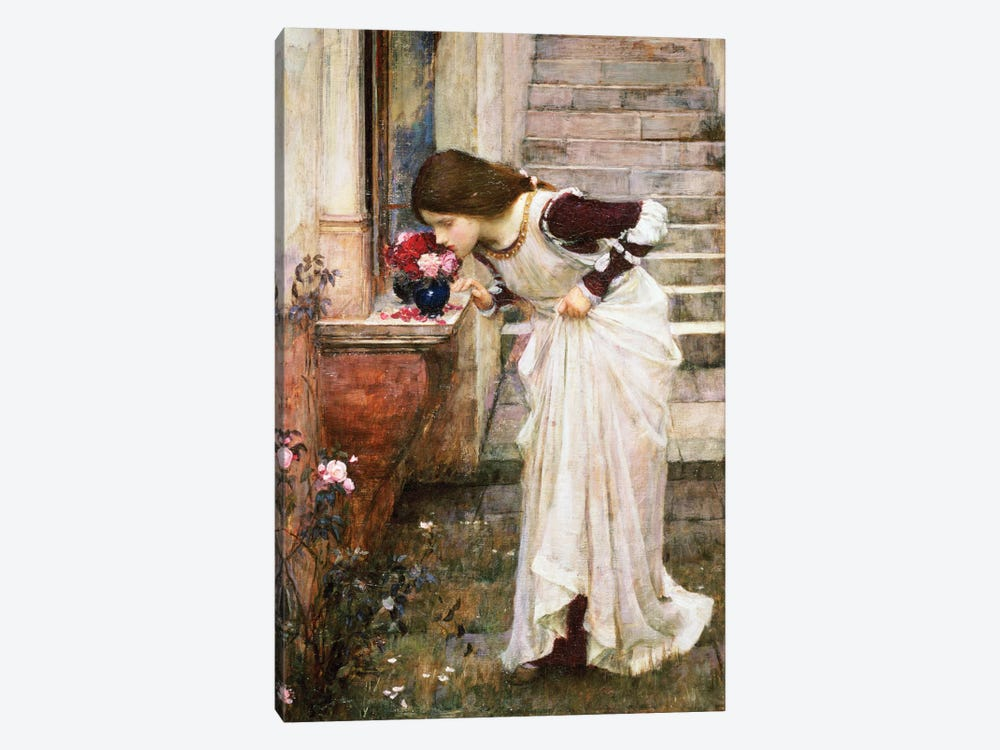 The Shrine by John William Waterhouse 1-piece Art Print