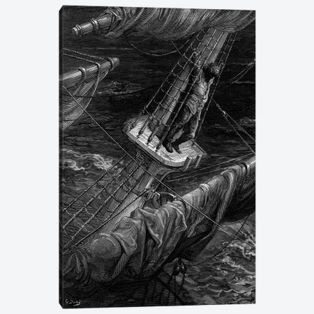 And I Had Done A Hellish Thing, And It Would Work'em Woe (Illustration From Coleridge's The Rime Of The Ancient Mariner) Canvas Print #BMN6793} by Gustave Dore Art Print