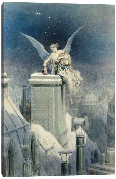 Christmas Eve Canvas Art Print