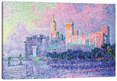 The Chateau des Papes, Avignon, 1900  Canvas Art Print