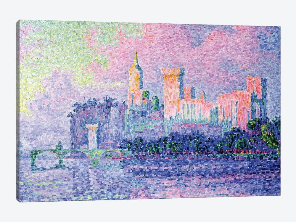 The Chateau des Papes, Avignon, 1900  by Paul Signac 1-piece Canvas Print