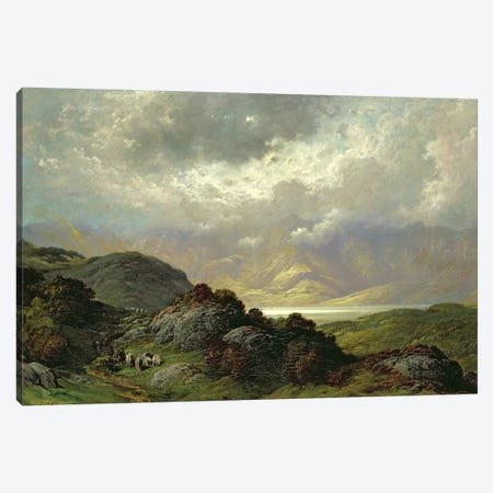 Scottish Landscape Canvas Print #BMN6810} by Gustave Dore Canvas Artwork