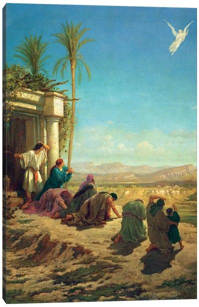 The Angel Of Tobias, c.1865 Canvas Art Print