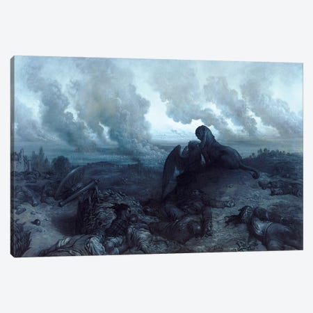 The Enigma, 1871 Canvas Print #BMN6822} by Gustave Doré Art Print