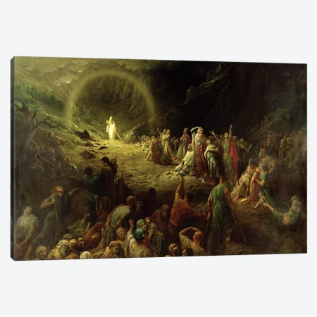 The Valley Of Tears, 1883 Canvas Print #BMN6828} by Gustave Dore Canvas Art Print