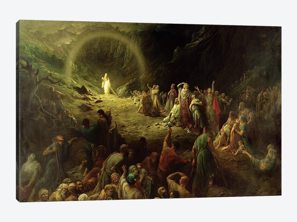 The Valley Of Tears, 1883 by Gustave Dore 1-piece Canvas Art