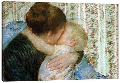 A Goodnight Hug Canvas Art Print