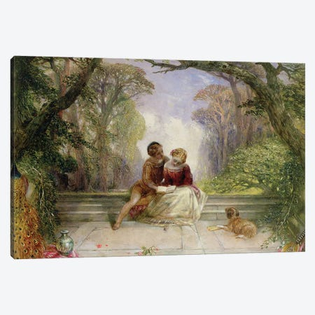 Early Summer Canvas Print #BMN683} by Alfred Woolmer Canvas Art