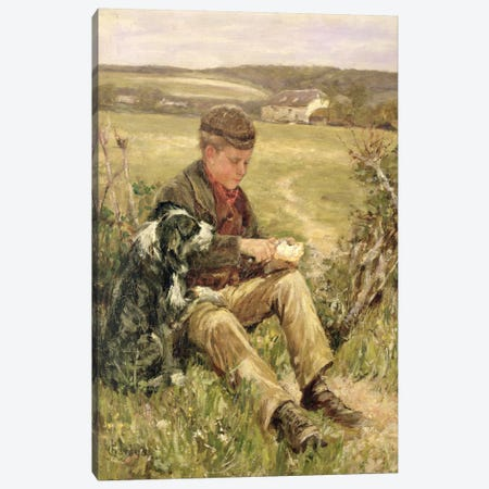 Companions Canvas Print #BMN684} by James Charles Canvas Print