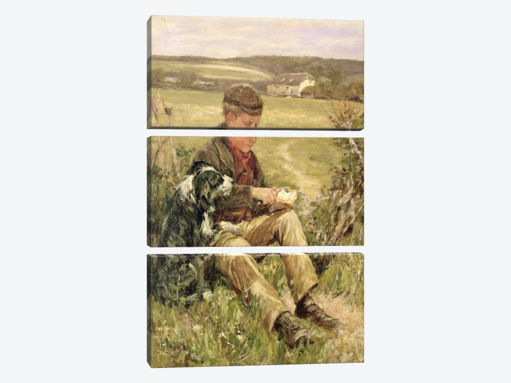 Companions by James Charles 3-piece Canvas Art Print