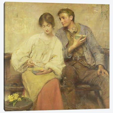 A Dinner of Herbs Canvas Print #BMN685} by George William Joy Art Print