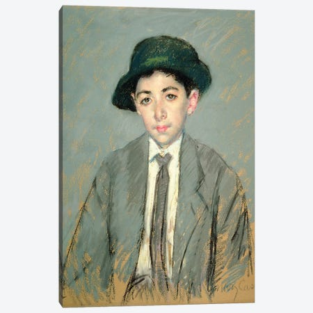 Portrait Of Charles Dikran Kelekian, 1910 Canvas Print #BMN6863} by Mary Stevenson Cassatt Art Print