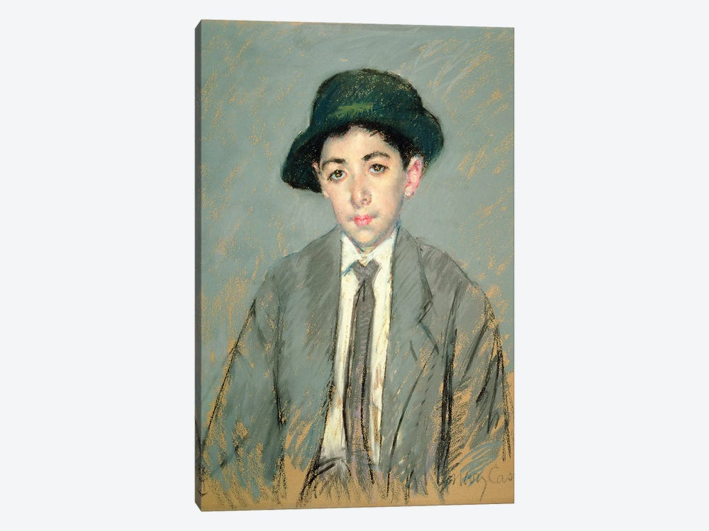 Portrait Of Charles Dikran Kelekian, 1910 by Mary Stevenson Cassatt 1-piece Canvas Print