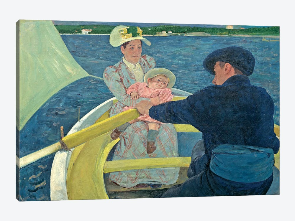 The Boating Party, 1893-94 by Mary Stevenson Cassatt 1-piece Canvas Art Print