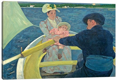 The Boating Party, 1893-94 Canvas Art Print