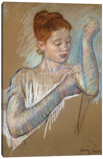 The Long Gloves, 1889 Canvas Art Print