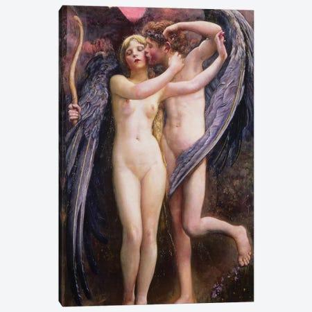Cupid and Psyche 3-Piece Canvas #BMN687} by Annie Louisa Swynnerton Art Print