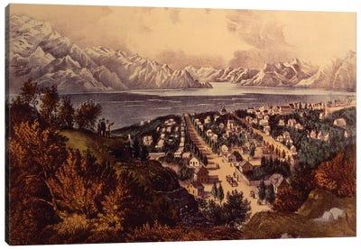 Great Salt Lake, Utah Canvas Art Print