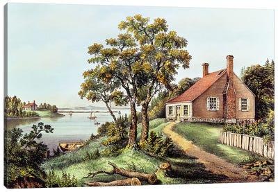 The Birthplace Of Washington At Bridges Creek, Westmoreland County, VA Canvas Art Print