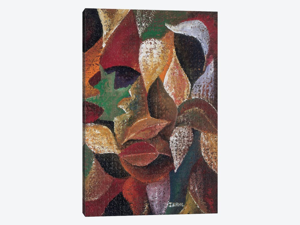 Autumn Leaves by Ikahl Beckford 1-piece Canvas Print