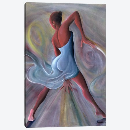 Blue Dress Canvas Print #BMN6946} by Ikahl Beckford Canvas Print