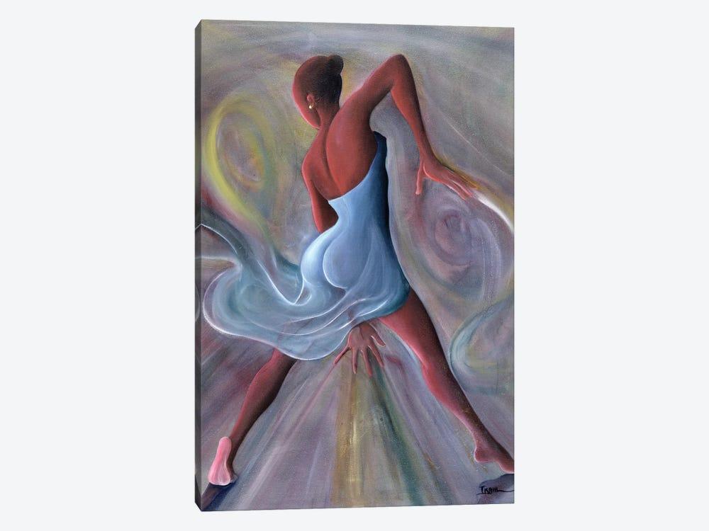 Blue Dress by Ikahl Beckford 1-piece Canvas Print