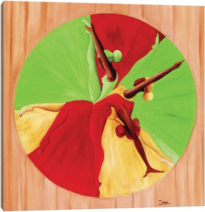 Dance Circle Canvas Art Print