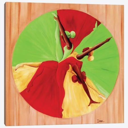 Dance Circle Canvas Print #BMN6950} by Ikahl Beckford Canvas Art Print
