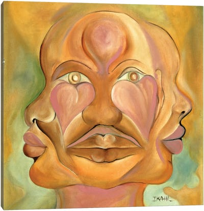 Faces Of Copulation Canvas Art Print